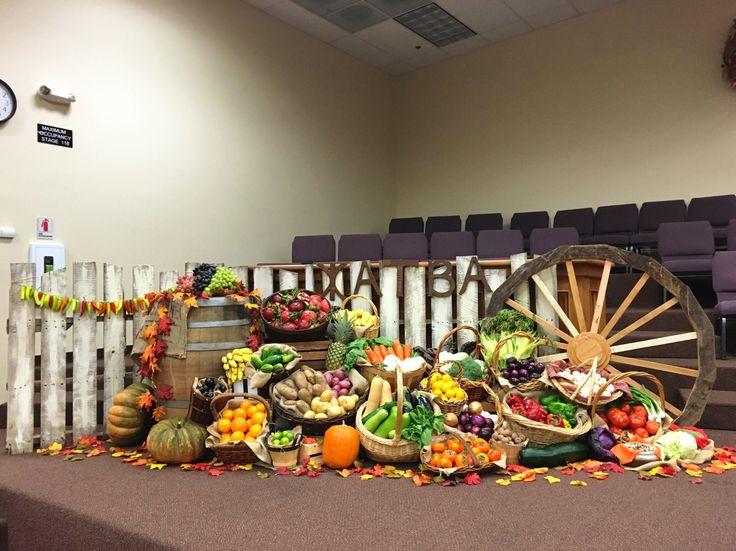 Church, harvest, autumn, fall, жатва в церкви 2015, осень