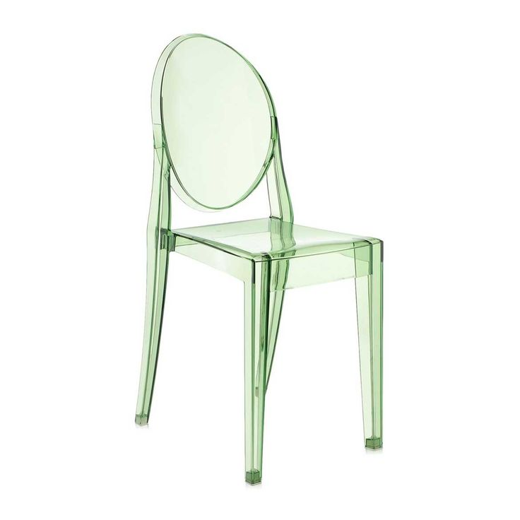 Buy The Victoria Ghost Chair   Green From Kartell At Amara.