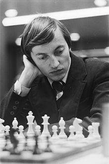Anatoly Yevgenyevich Karpov, PhD (Russian: Анато́лий Евге́ньевич Ка́рпов, Anatolij Evgen'evič Karpov; born May 23, 1951) is a Russian chess grandmaster and former World Champion. He was the official world champion from 1975 to 1985 when he was defeated by Garry Kasparov.
