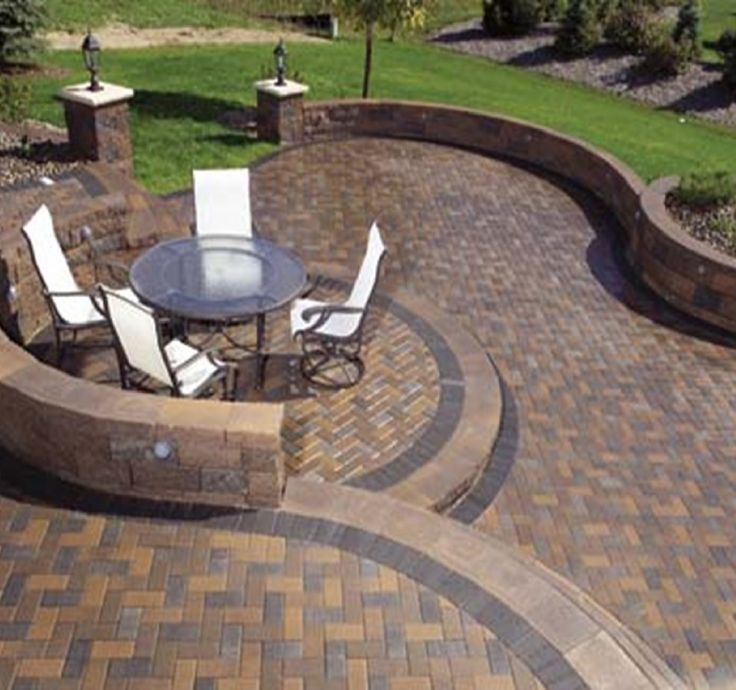 29 best Bricks and Blocks images on Pinterest Bricks Patio