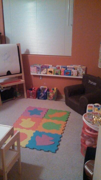 Small playroom