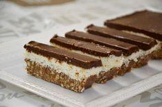 אצבעות של3 שכבות: שוקולד קוקוס וגנאש  קינוח ב-4 מרכיבים בלבד, ללא אפיה!   תבנית אינגליש