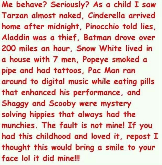 BEHAVE?......