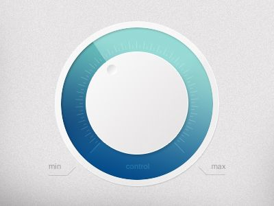 Light UI Knob by Lello Avallone
