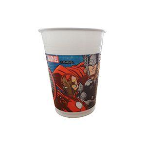 Avengers & Yenilmezler Desenli Bardak, 12 yaş doğum günü süsleri