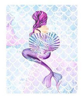 Sneak Peak! Midnight Mermaid Planner Sticker Collection coming soon to www.StickAroundDesigns.com