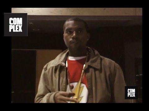 Kanye West Studio Session