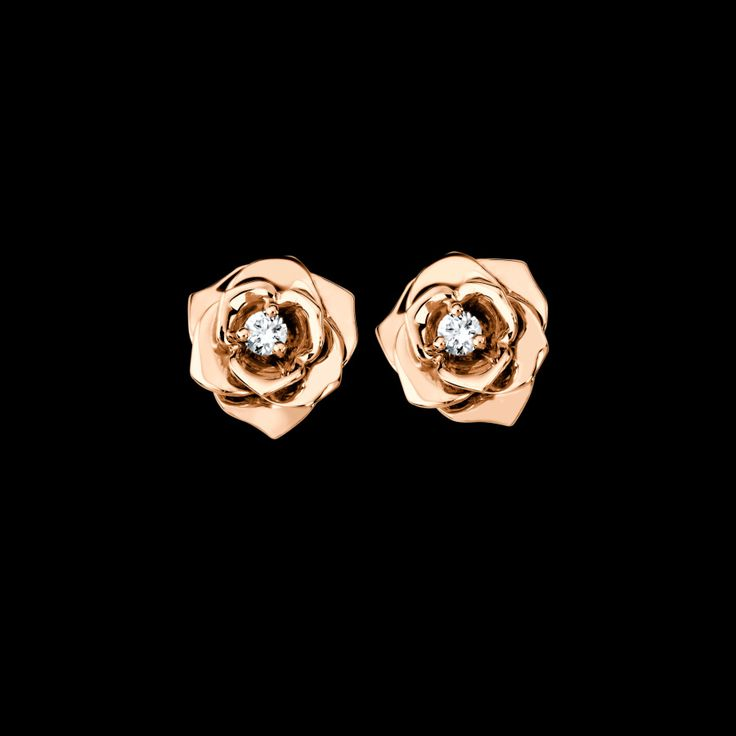 Rose gold Diamond Earrings | http://www.oliviapalermo.com/gift-guide-olivias-timeless-treasures/