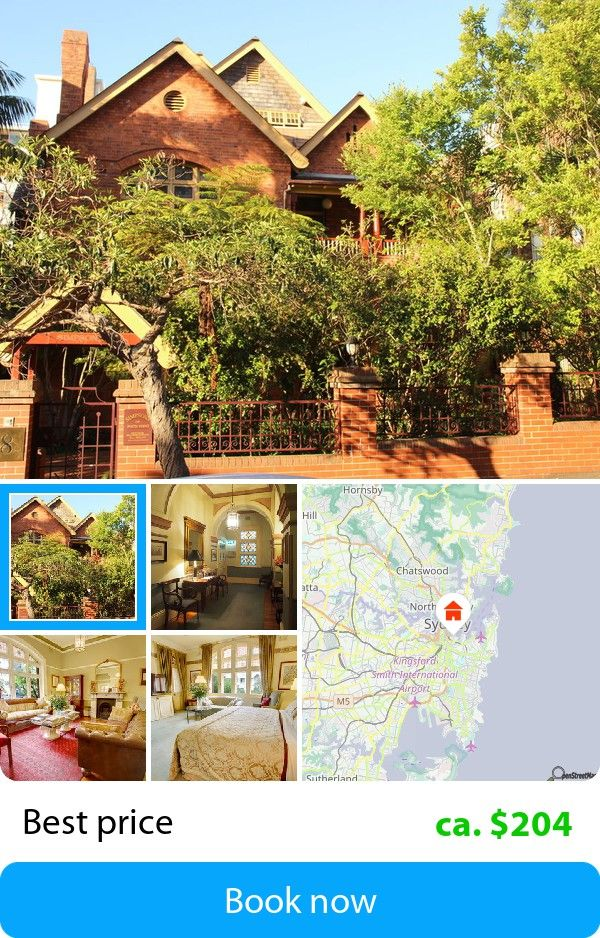 Simpsons Of Potts Point (Sydney, Australia) – Book this hotel at the cheapest price on sefibo.