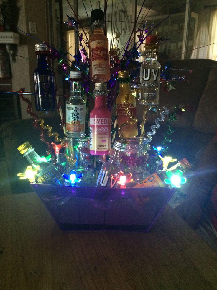 25 Unique Liquor Gift Baskets Ideas On Pinterest