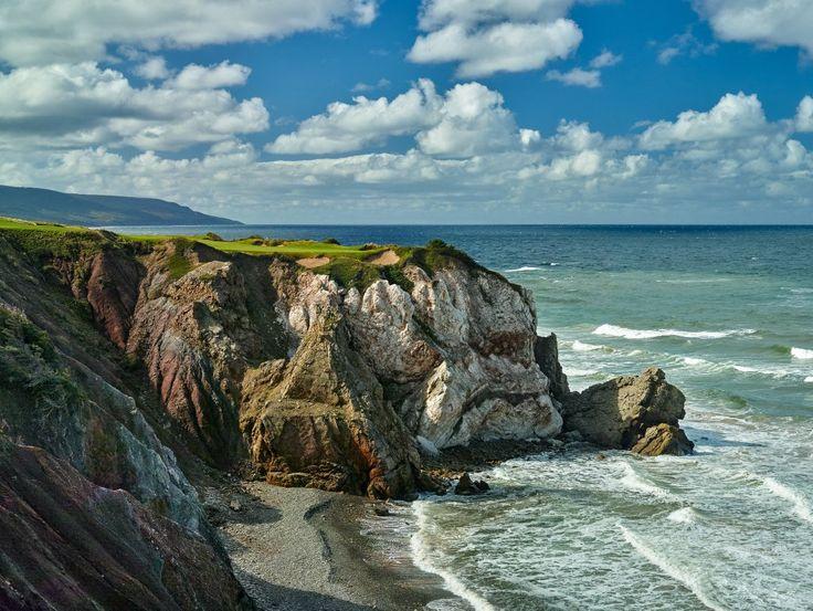 16th hole, Cabot Cliffs GC, Nova Scotia, Canada.
