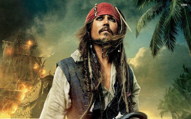 Captain Jack Sparrow Wallpapers 4k, Full HD , HD, Download