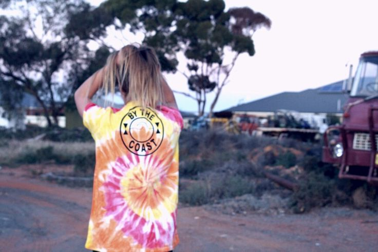Everything at BTC is Tie dyed by hand // By The Coast Clothing //
