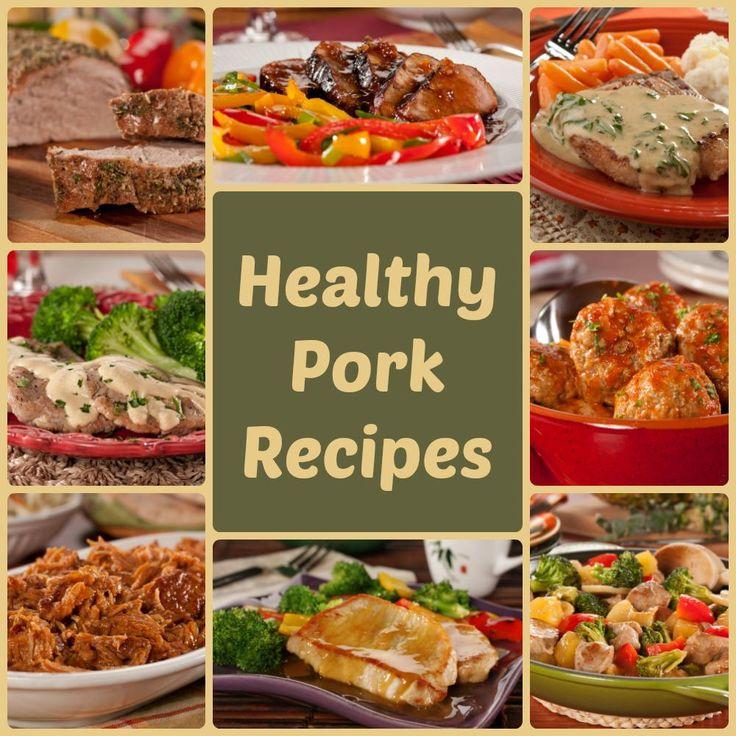 Pork Loin Pork Chops And Pulled Pork 8 Healthy Pork Recipes