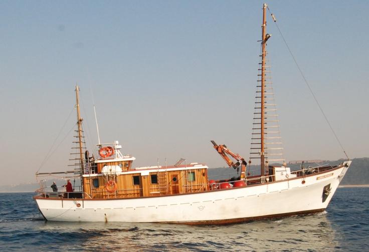 M.V. Angra Pequena off Durban, South Africa, 2010