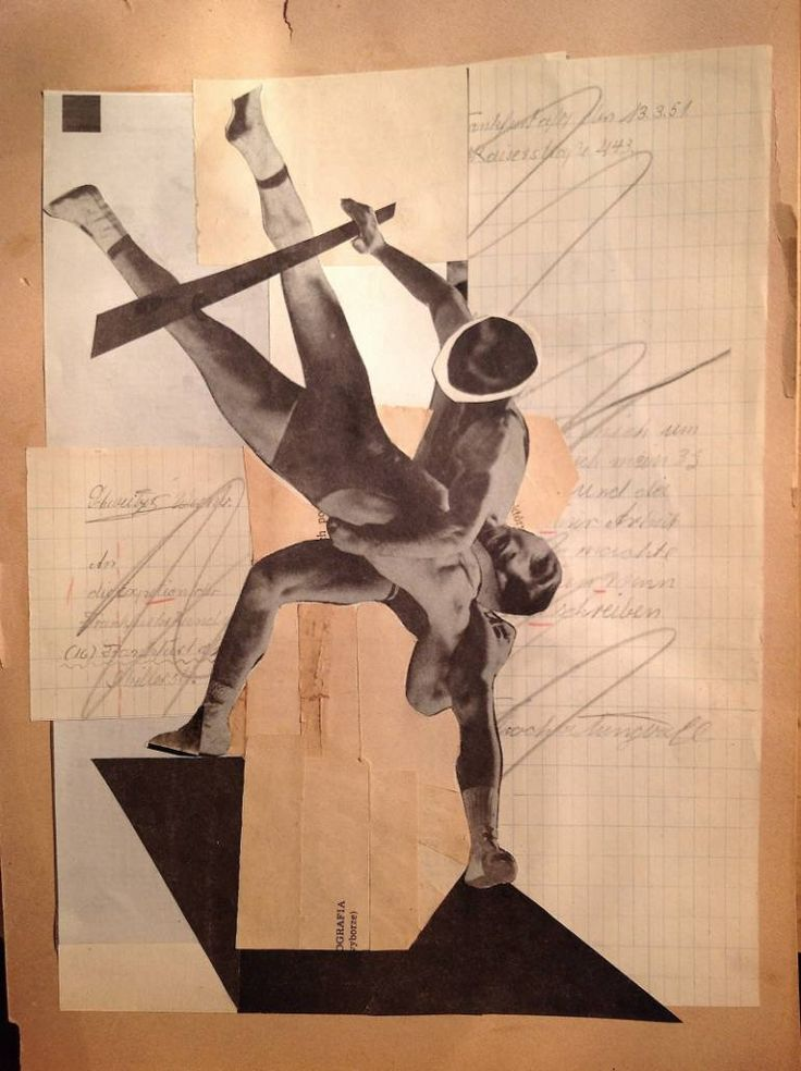 """Saatchi Art Artist Franz Falckenhaus; Collage, """"Spank !!"""" #art"""