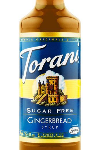 30-45ml (2-3tbsp) Sugar Free Gingerbread Syrup