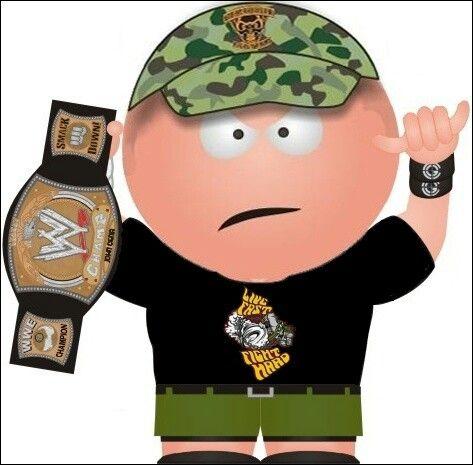 John Cena South Park character