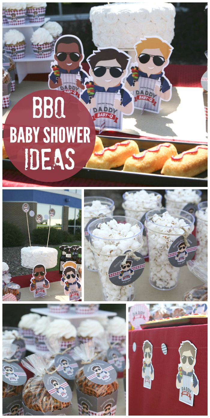 Daddy baby q baby shower david 39 s man shower cheap for Baby shower bbq decoration ideas