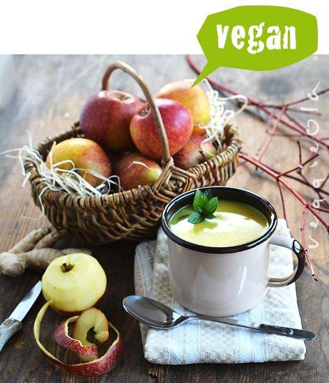 veggieola: Zupa jabłkowa z imbirem, na ostro