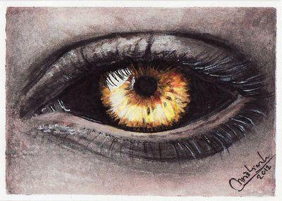 Demon Eye by acjub.deviantart.com on @deviantART