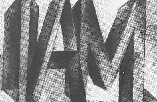 I AM - Colin McCahon - 1954