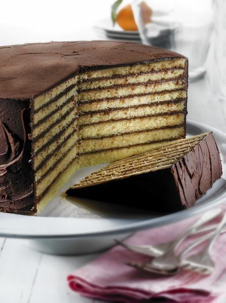 Maryland Smith Island cake: