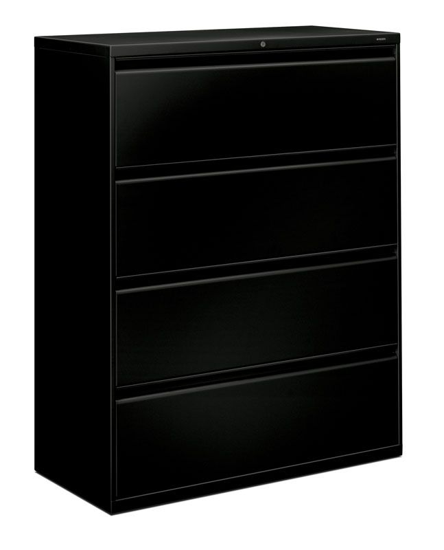 Lovely 4 Drawer Horizontal File Cabinet