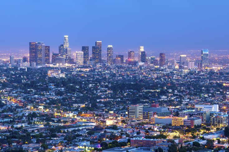 California Dreaming La Style Spectacular Skyline Views Los Angeles Hotels Los Angeles Travel Los Angeles Skyline