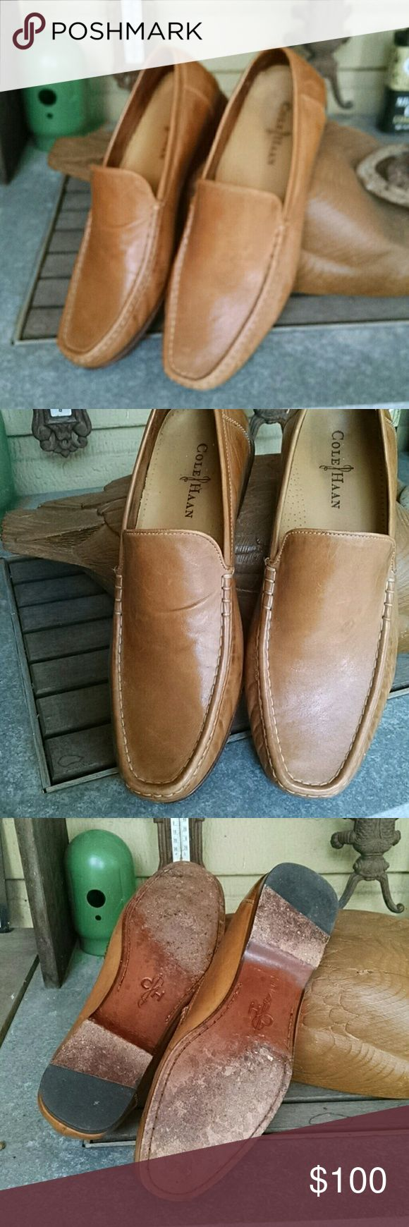 Cole Hann Tan loafer  11M Soft leather barely worn Cole Haan Shoes Loafers & Slip-Ons