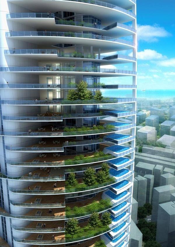 Torre Indra  Diseño en Arquitectura Vanguardista o Futurista.  #innovacion #arquitectura #futurismo