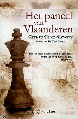 """Boek """"Het paneel van Vlaanderen"""" van Arturo Pérez-Reverte   ISBN: 9789061127284, verschenen: 2010, aantal paginas: 381"""