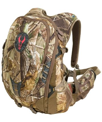 Badlands Kali Pack!  Made just for women.  Great pockets and vented back.  Rifle/bow sling is the BEST!    $159.99 at www.proishunting.com  THE most highly recommended pack by women in the hunting industry!