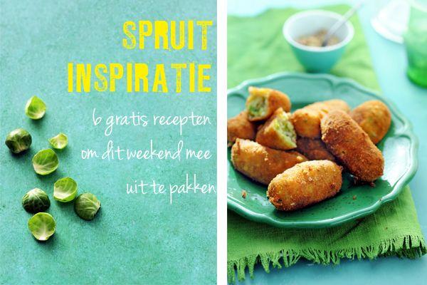 Spruitjes-Kroketten met Karwij en Kaas. Delicious recept.