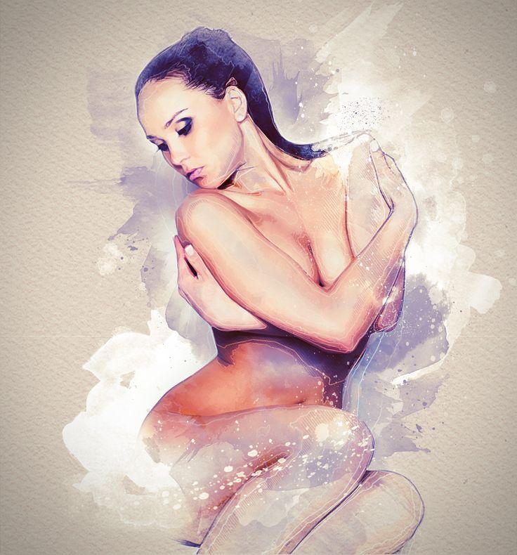 """Check out my @Behance project: """"Susanna"""" https://www.behance.net/gallery/57765367/Susanna"""