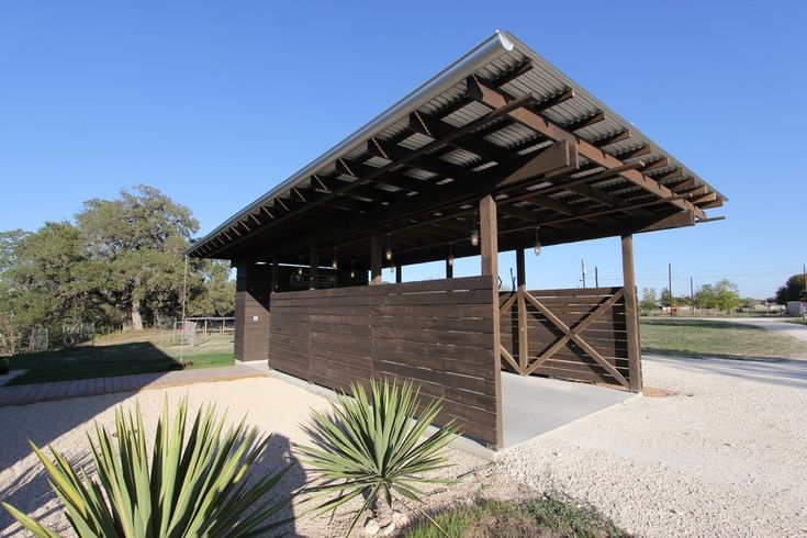 Great stain color     Surprising-Hill-Country-decorating-ideas-for-Bewitching-Garage-And-Shed-Industrial-design-ideas-with-Car-Port-carport-comtemporary-carport-corrugated-roof-desert-landscape-galvalume-roof-galvanized.jpg (JPEG Image, 990×660 pixels) - Scaled (91%)
