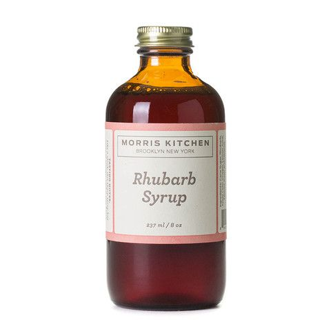 rhubarb syrup- bought some of this today can't wait to bake with it ...