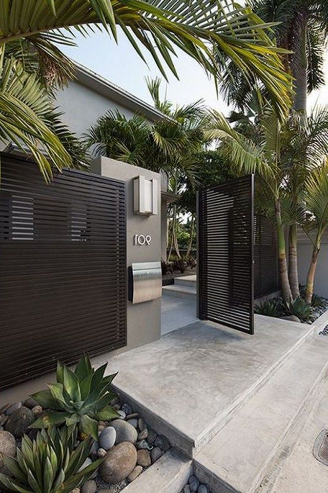 55 Lovely Modern Home Gates Design Ideas Modern Fence Design