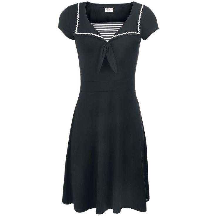 Pussy Deluxe  Mittellanges Kleid  »Anchor« | Jetzt bei EMP kaufen | Mehr Rockabilly  Mittellange Kleider  online verfügbar ✓ Unschlagbar günstig!
