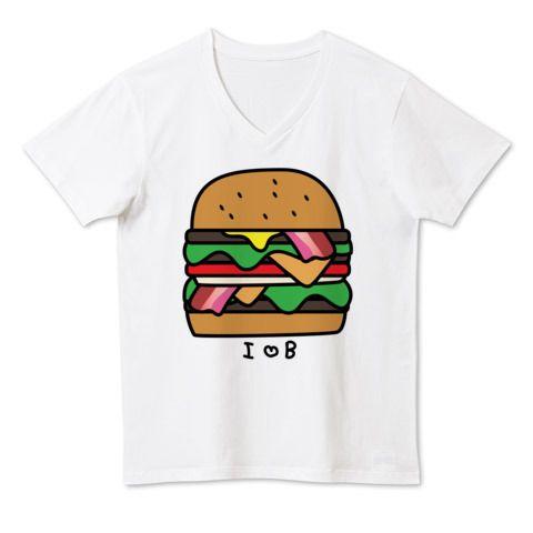 バーガー | デザインTシャツ通販 T-SHIRTS TRINITY(Tシャツトリニティ)