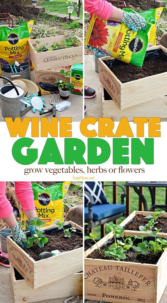 71382 best getting crafty diy images on pinterest for Small wine crates
