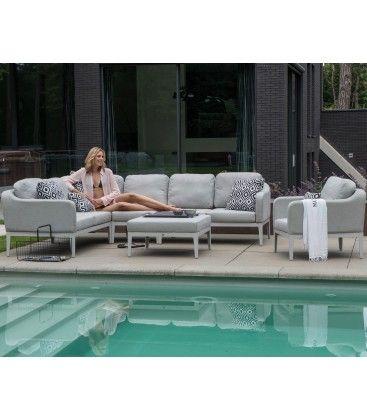 Almeria loungeset + stoel + center Sunbrella 4 Seasons Outdoor
