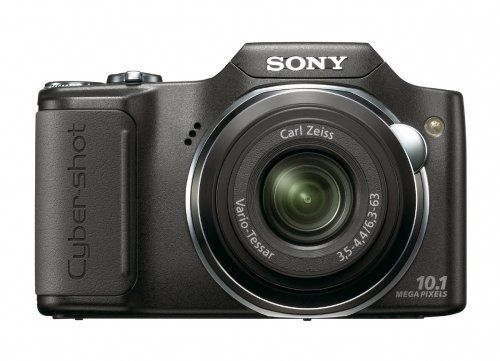 Sony Cyber-shot DSC-H20/B 10.1 MP Digital Camera with 10x Optical Zoom and Super Steady Shot Image Stabilization, Best Gadgets