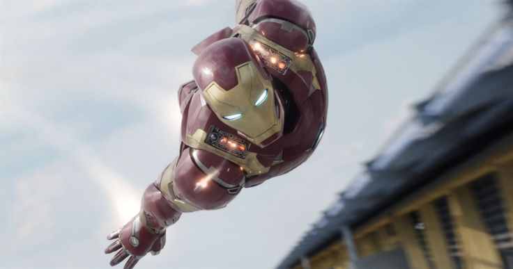 Captain America: Civil War : Photo Robert Downey Jr.