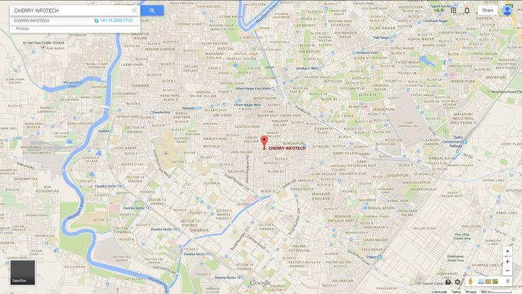 Company location on google map.