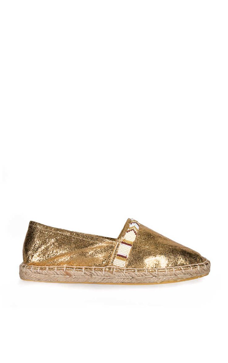 Espadrillo Amenapih GOLD - no worries it is summer - Raglady