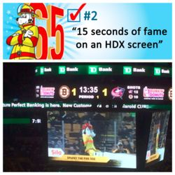 Sparky completes his 2nd #BucketList item! #Sparkys65th