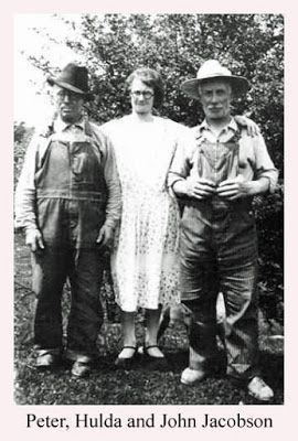 Ranae's Swedish-Chicago Heritage Blog: Sibling Saturday - Peter, John and Hulda Jacobson