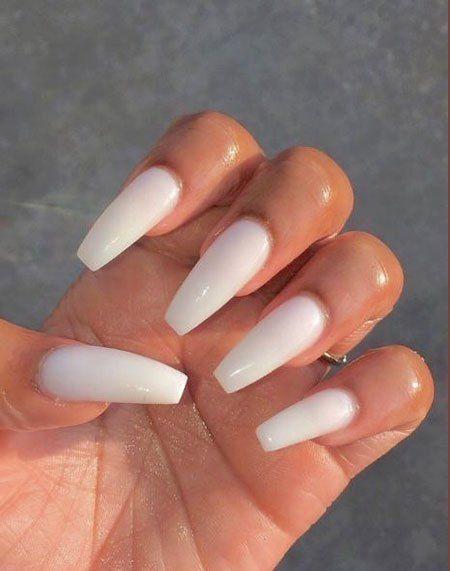 25 Acryl Nail Art Designs 2018 – Neutrale nägel