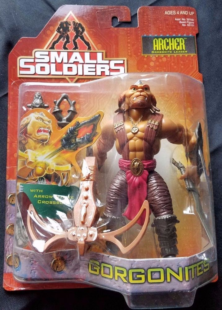 1998 KENNER SMALL SOLDIERS MOVIE ACTION FIGURE ARCHER GORGONITE LEADER  R16  | eBay
